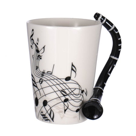 Clarinet Coffee Mug
