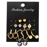 Pretty Fashion Earrings Sets in assorted colors and Designs - 35% off