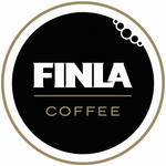Finla coffee logo. water mark.