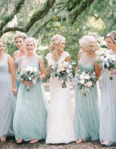 Mint Green Bridesmaid Dresses Fashion Dresses