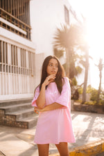 Light Pink Oversized Tee