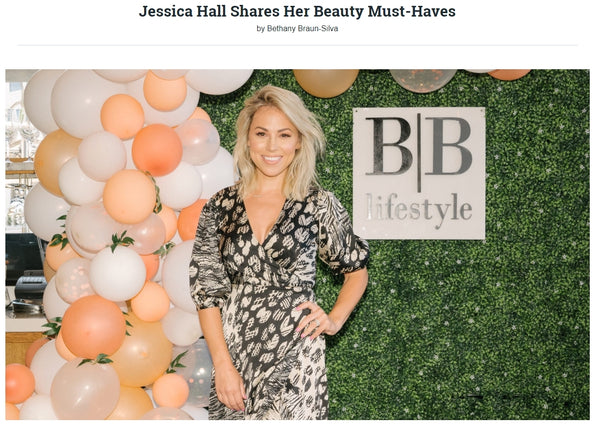 Jessica Hall Shares Her Beauty Must-Haves