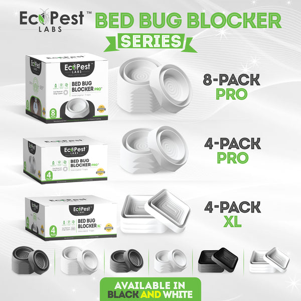 Announcing the Bed Bug Blocker (XL)™ - 4 Pack and the Bed Bug Blocker (Pro)™ - 4 Pack!