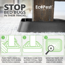Load image into Gallery viewer, Bed Bug Blocker (XL)™ — 8 Pack | Interceptors, Monitors, and Traps