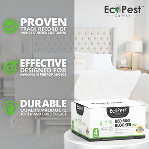 Bed Bug Blocker (Pro)™ — 12 Pack | Interceptors, Monitors, and Traps