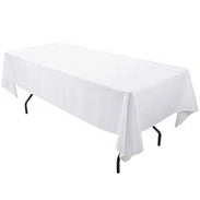 100% Polyester Rectangular Tablecloth 60 x 126-inch - IceFabrics