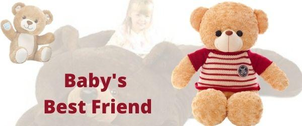 Baby's Best Friend Minky Fabric Teddy Bear | IceFabrics