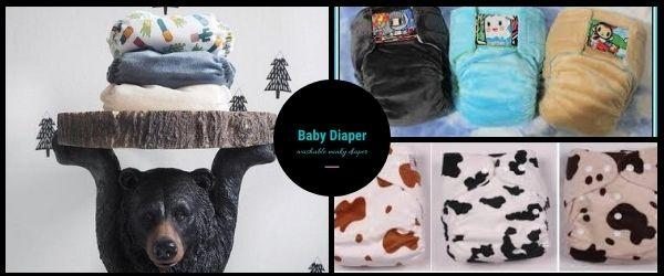 Baby Nappies made of Minky Fabric | IceFabrics
