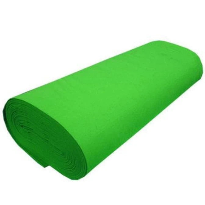 "LIME - Solid Acrylic Felt Fabric -72"" Width- Sold By The Yard - IceFabrics"