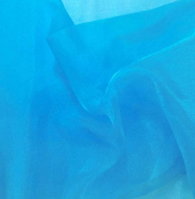"Crystal Sheer Organza Fabric for Fashion, Crafts, Decorations 58"" Wide By the Yard - IceFabrics"