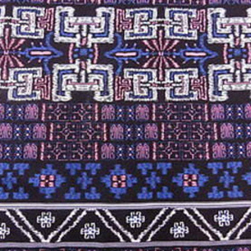 Rayon with Colorful Geometric Pattern - ICE FABRICS