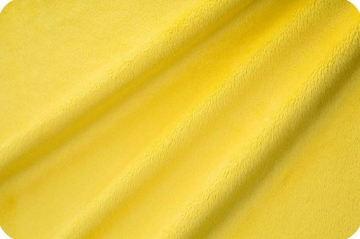 Canary - Soft and Snuggly Cuddle Minky Fabric 3 mm Pile - IceFabrics