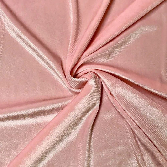Polyester Stretch Velvet Fabric By The Yard