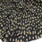 100% Rayon challis Black background w small flowers ivory yellow green sold by the yard soft organic kids dress draping clothing decoration - IceFabrics
