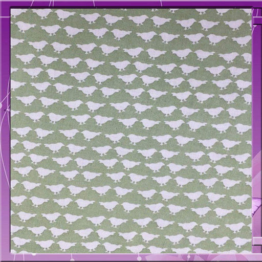 Light Pink - 100% Rayon Challis Birds Print Design  Fabric by the Yard 58 Inches Wide - ICE FABRICS
