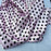 Pink/black - 1/2inch Polka Dot Silky/Soft Charmeuse Satin Fabric - ICE FABRICS