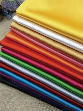 5% Stretch Satin Fabric Spandex Fabric BTY