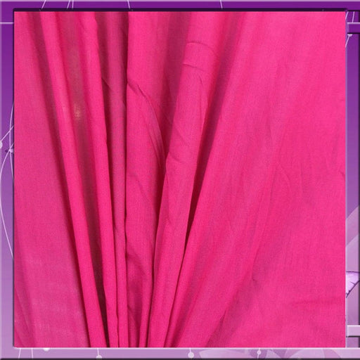 Pink - 100% Rayon Challis Cerise 58 Inches Wide Fabric Sold by the Yard soft organic ligth weight kids clothing draping decoration dress - ICE FABRICS