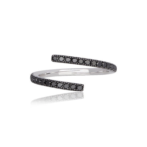 Eclipse Black Diamond Ring ALINKA