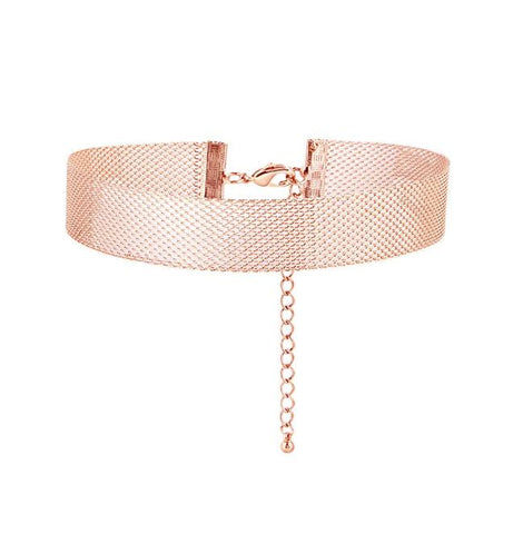 ALINKA Mesh Gold Choker Necklace