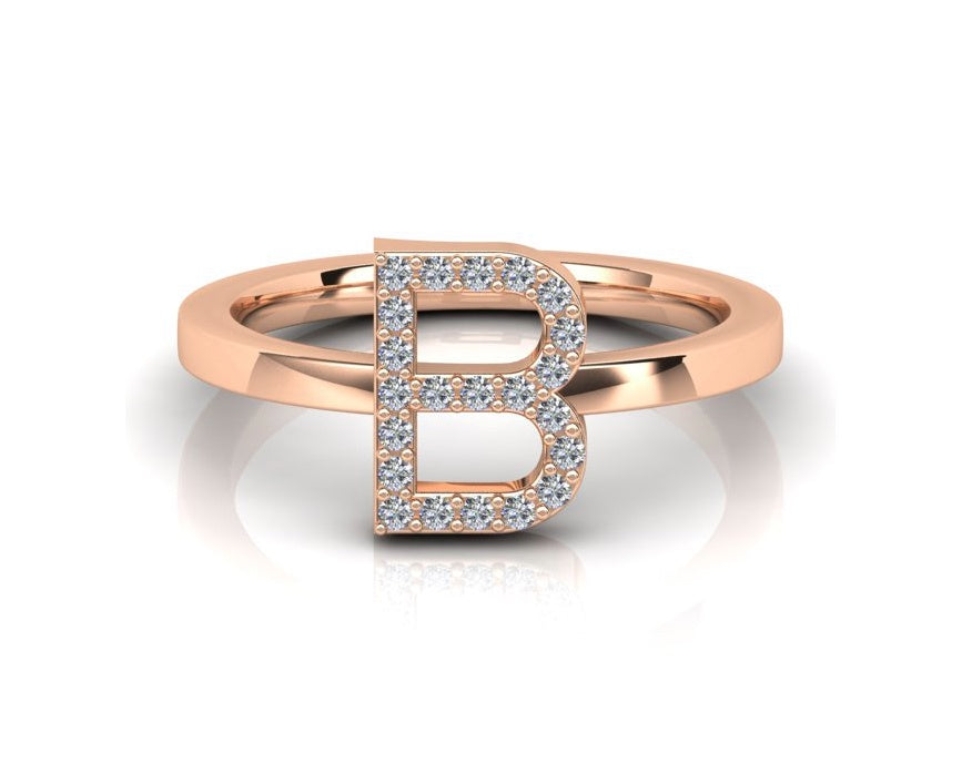 ID Diamond Ring - B