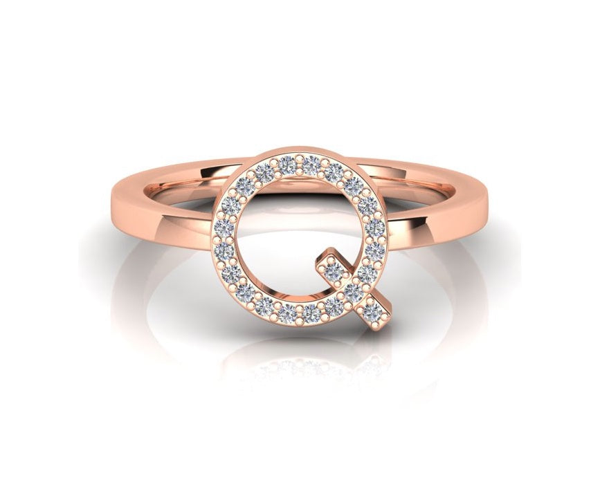 ID Diamond Ring - Q