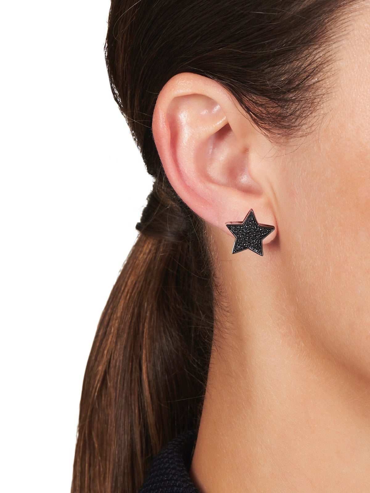 STASIA SUPERSTAR Black Diamond Stud