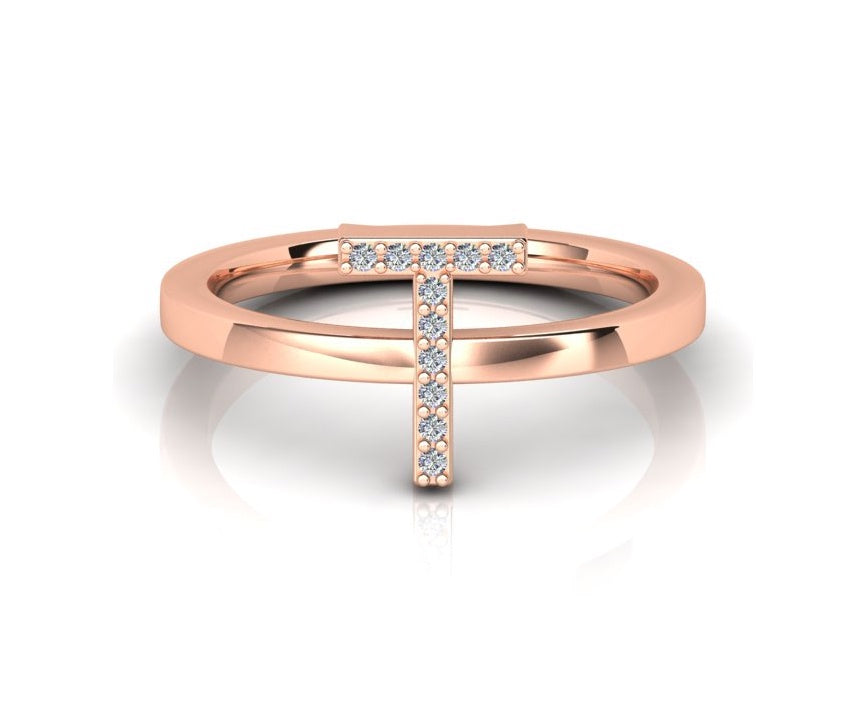 ID Diamond Ring - T