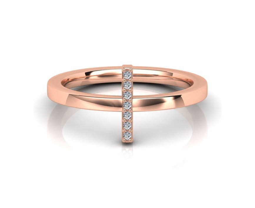 ALINKA ID Diamond Ring White Diamonds I
