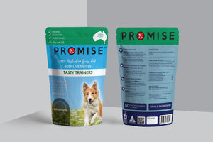 PROMISE Organic Grass Fed Beef Liver Dog Treats