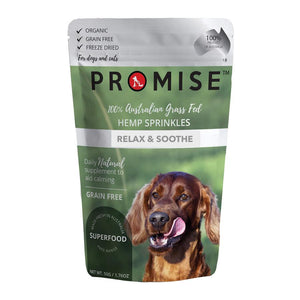PROMISE ORGANIC BEEF LIVER HEMP SPRINKLES - RELAX & SOOTHE
