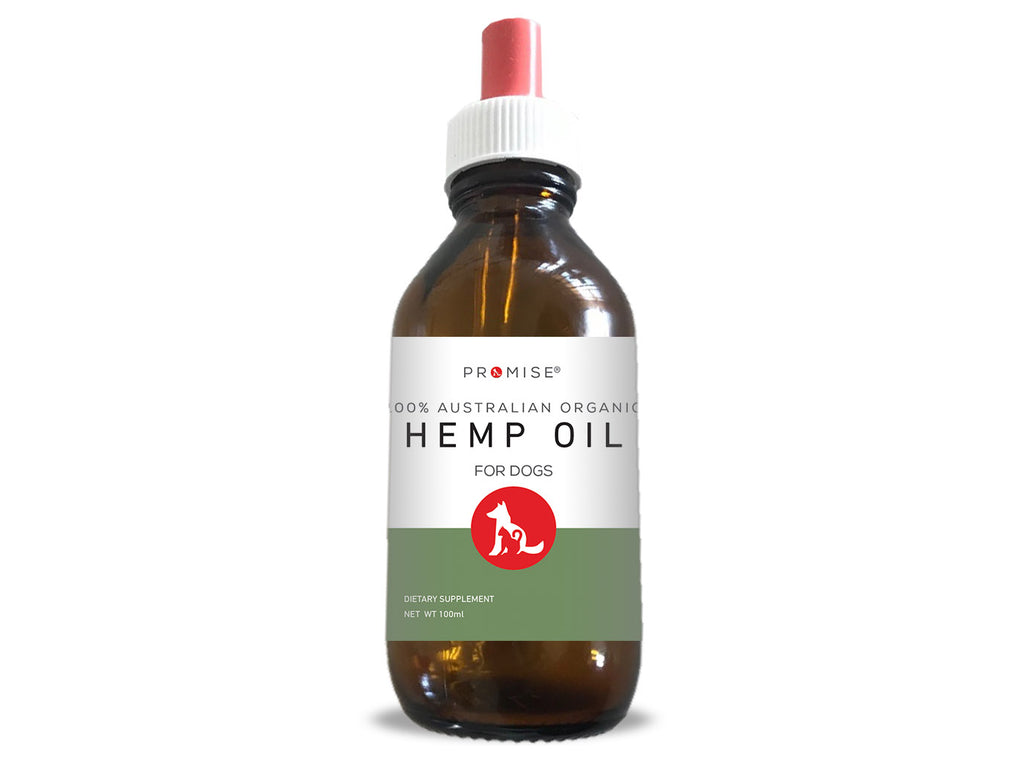 NEW - PROMISE ORGANIC HEMP OIL FOR DOGS