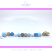 MAMAWISH  teether/pacifier clips