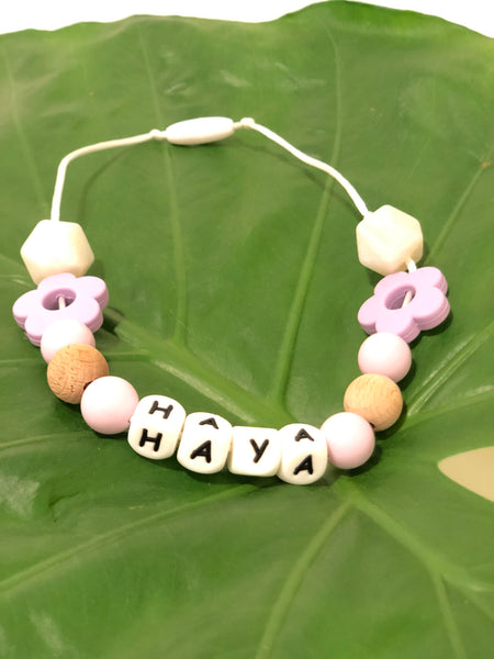 MAMAWISH Girls teething necklace