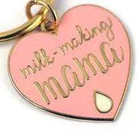 Milk making mama keyring