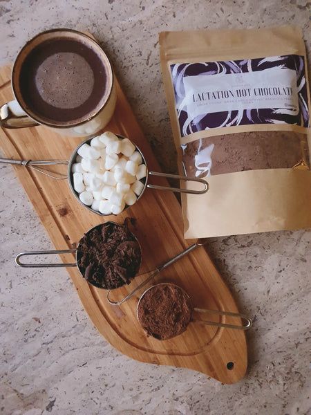 Nourishkw  Lactation Hot Chocolate