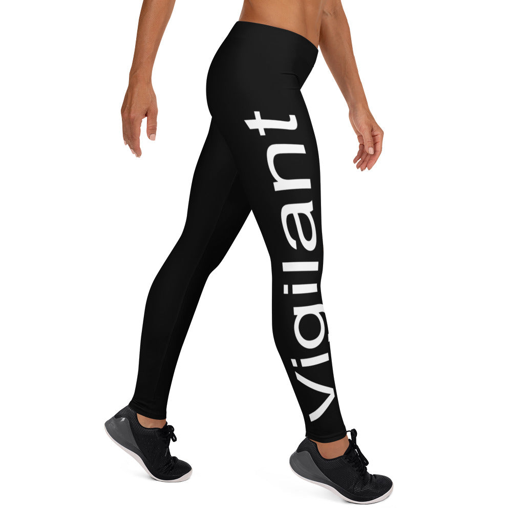 Women's Black Vigilant Leggings
