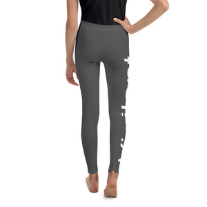 Girls Black Vigilant Leggings