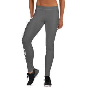 Women's Gray Vigilant Leggings
