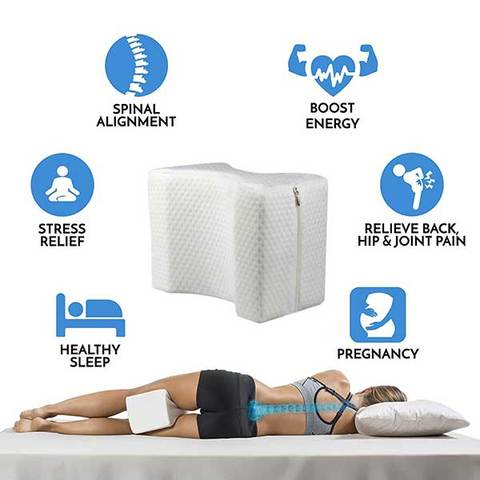 ComforLife™ Memory Foam Hip Alignment Leg Pillow