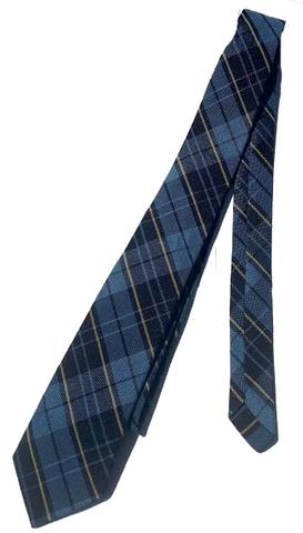 Boys Plaid Tie