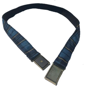 Plaid Elastic Belt