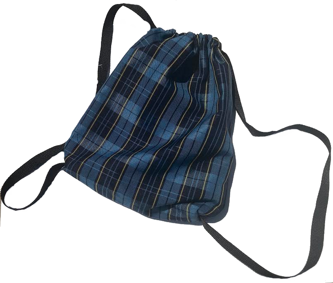 Plaid Cinch Bag