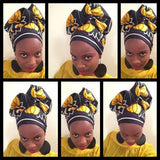 wanyika mshila african wax print head wrap style | 2 sydney stylists loves