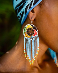 Mvua Beaded Earrings