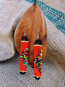 Nala Maasai beaded earrings lookbook | 2 Sydney Stylists Loves