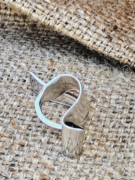 upcycled vintage spoon handle silverware ring | alt view | 2 Sydney Stylists Loves
