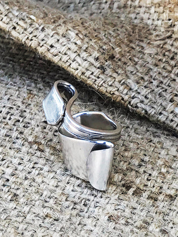 upcycled vintage spoon handle silverware ring | 2 Sydney Stylists Loves