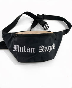 Black cross body bag / bum bag