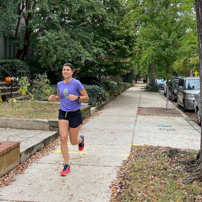 Yasmine Runs for Humanity in New York City Marathon 2019